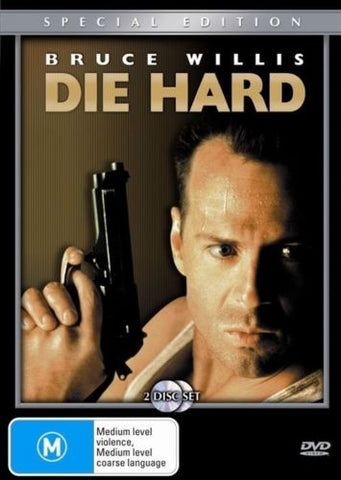Die Hard DVD 2003 2-Disc Set Region 4 PAL Bruce Willis Action & Adventure Movie-DVDs & Movies DVDs & Blu-ray Discs-1000 Things Australia