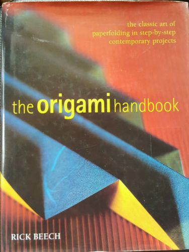 The Origami Handbook The Classic Art of Paperfolding in Step-by-Step Hardback-Books Textbooks, Education-1000 Things Australia