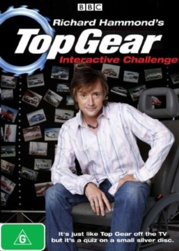 Top Gear Richard Hammond's Interactive Challenge DVD 2008 Region4 PAL New Sealed-DVDs & Movies DVDs & Blu-ray Discs-1000 Things Australia