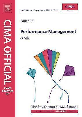 Performance Management 2010 Paper P2 Paperback CIMA Official Exam Practice Kit-Books Textbooks, Education-1000 Things Australia