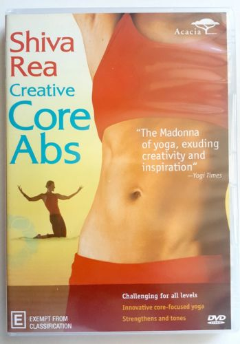Creative Core Abs By Shiva Rea DVD 2010 Fitness Workout - 1000 Things Australia