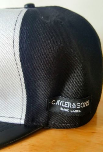 Cayler & Sons Black & White Baseball Cap - 1000 Things Australia
