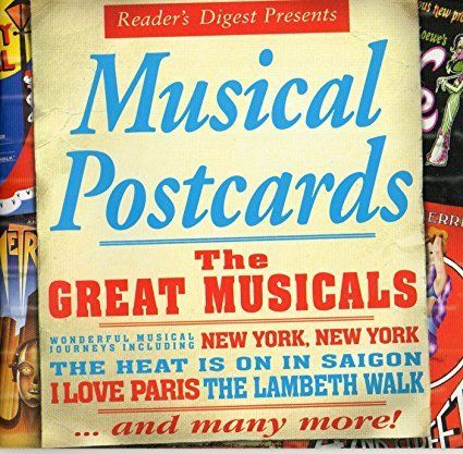 The Great Musicals: Musical Postcards 2 CDs Reader's Digest 2008 Compilation New-Music CDs-1000 Things Australia