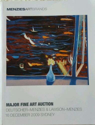 Menzies Art Brands Major Fine Art Auction Catalog 16 December 2009 Sydney VGC-Books Antiquarian & Collectible-1000 Things Australia