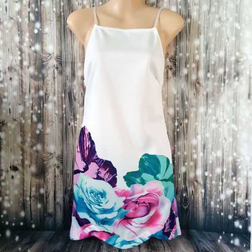 Classy Multi-Coloured Floral Casual Women's Dress - 1000 Things Australia