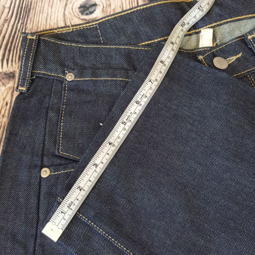 LEVI'S Dark Blue Relaxed Fit Denim Unisex Jeans - 1000 Things Australia