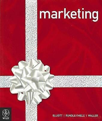 Marketing Elliott Rundle-Thiele Waller Paperback 2010 English Textbook VGC-Books Textbooks, Education-1000 Things Australia