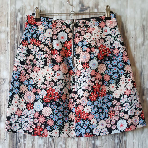 ZARA Floral A-Line Skirt - 1000 Things Australia