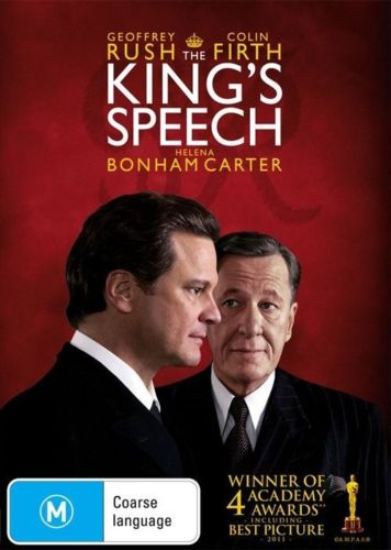 The King's Speech Colin Firth Helena Bonham Carter DVD 2011 English DVDs New-DVDs & Movies DVDs & Blu-ray Discs-1000 Things Australia