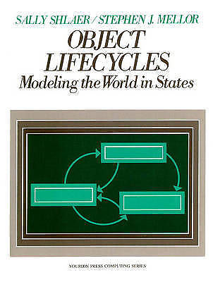 Object-oriented Lifecycles by Stephen J. Mellor Sally Shlaer Paperback 1991 New-Books Textbooks, Education-1000 Things Australia