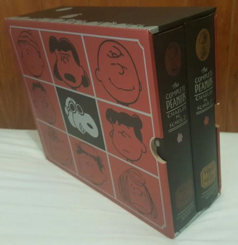 The Complete Peanuts (Charles M. Schulz) Boxed Set 1967-1970 Vol. 9-10 Hardcover-Books Fiction & Literature-1000 Things Australia