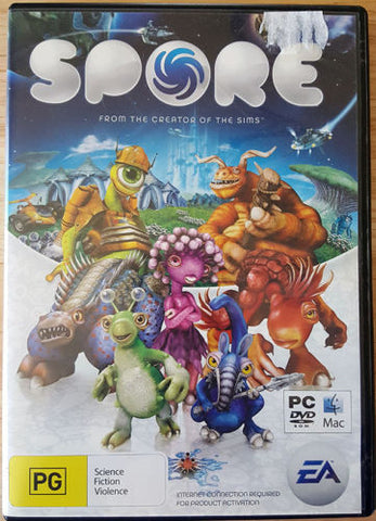 Spore From The Creator of The Sims PC & MAC 2008 Video Computer Games Rated PG-Video Games & Consoles Video Games-1000 Things Australia