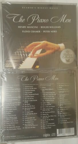 The Piano Men 4CD Collection Reader's Digest Music Compilation 2012 New & Sealed-Music CDs-1000 Things Australia