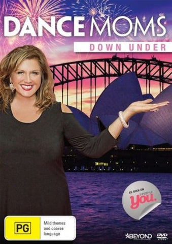 Dance Moms Down Under DVD 2015 Abby Lee Miller Rated PG Region 4 PAL New Sealed-DVDs & Movies DVDs & Blu-ray Discs-1000 Things Australia