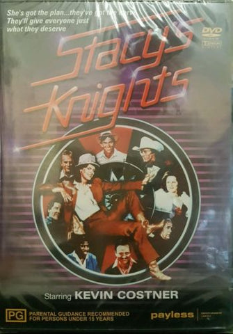 Stacy's Knights with Kevin Costner By Jim Wilson DVD All Regions PAL Brand New-DVDs & Movies DVDs & Blu-ray Discs-1000 Things Australia