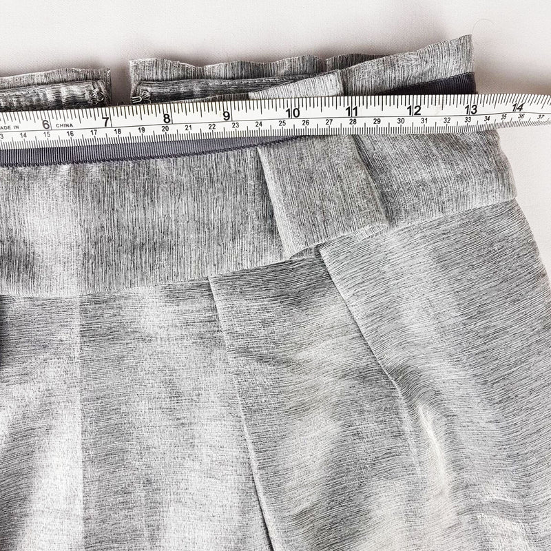 REVIEW Metallic Grey Pleated Skirt - 1000 Things Australia