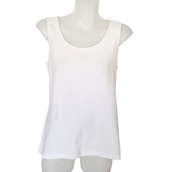 SPORTSCRAFT White Sleeveless Tank Top - 1000 Things Australia