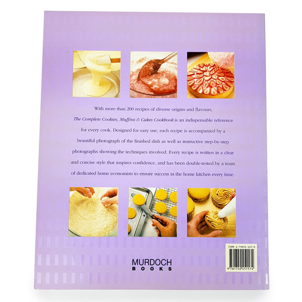 The Complete Cookies, Muffins & Cakes Cookbook By Murdoch Books
