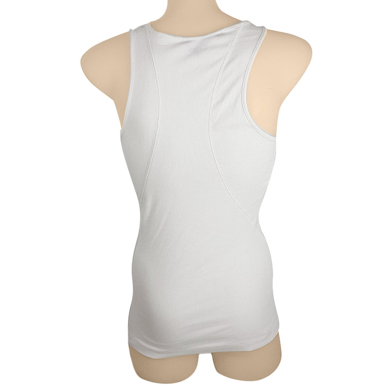 GUESS White Sequined Sleeveless Women's Slim Fit Tank Top - 1000 Things Australia