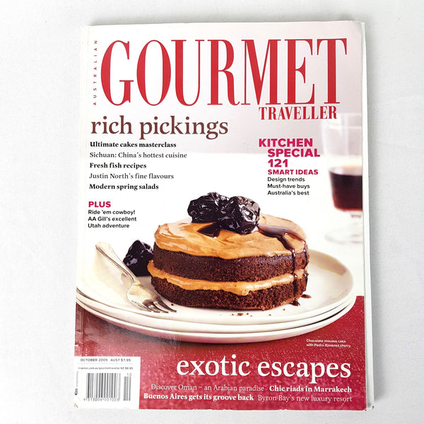 5x Cooking Baking Desserts Gourmet Traveller Australia Magazine Recipe Book Card - 1000 Things Australia