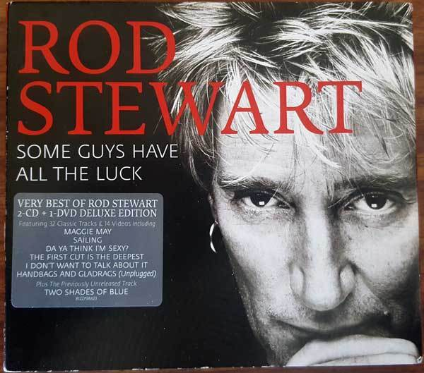 ROD STEWART - Some Guys Have All The Luck 2 CD & 1 DVD *NEW* Greatest Hits-CDs & DVDs-1000 Things Australia