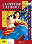 Justice League: Season 1 (DVD, 2016, 4-Disc Set) DC Super Heroes Region 4 PAL-DVDs & Blu-ray Discs-1000 Things Australia