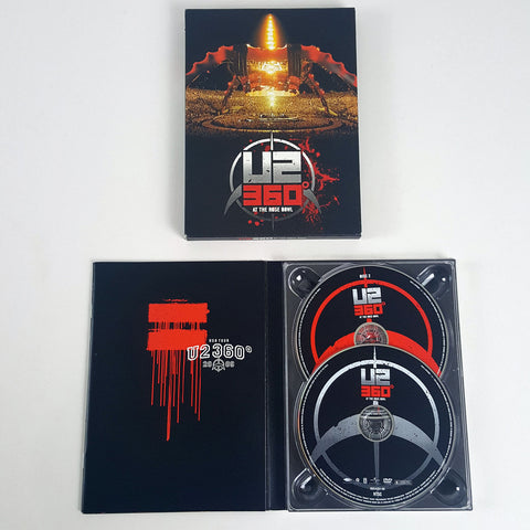 U2 360 at the Rose Bowl Live Concert USA World Tour DVD Jun-2010 2 Disc Set NTSC-CDs & DVDs-1000 Things Australia