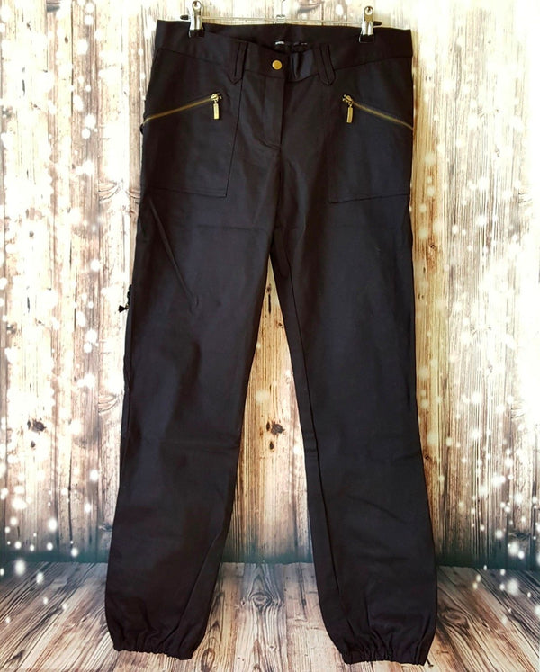 EVENTS Black Slim Casual Women's Tapered Pants - 1000 Things Australia