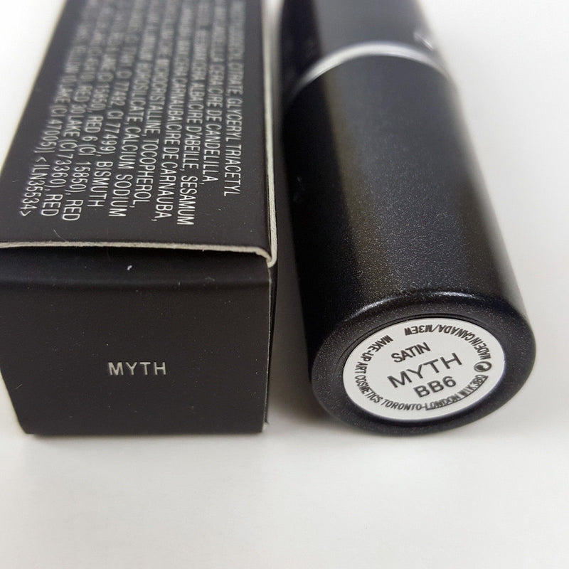 MYTH Light Neutral Nude Satin Rouge Lipstick - 1000 Things Australia