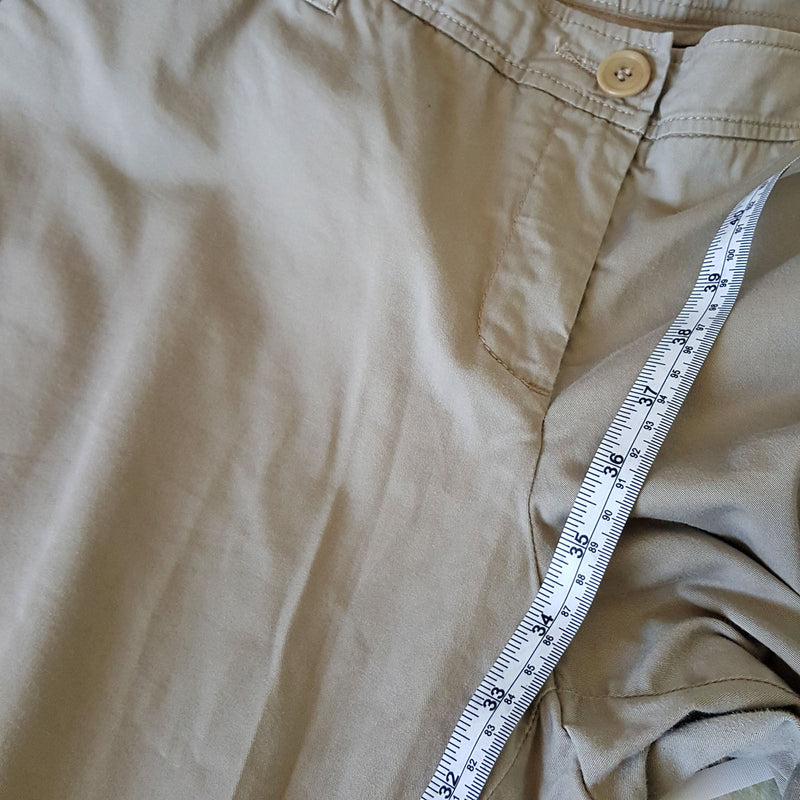 Sz 16 XXL COUNTRY ROAD Women's Light Brown Cotton Work Corporate Pants Plus Size - 1000 Things Australia