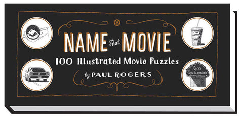 Name That Movie by Paul Rogers (Hardback, 2012) 100 Movie Puzzles Gift Book-Non-Fiction Books-1000 Things Australia