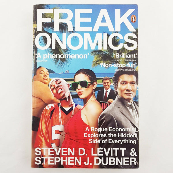 Freakonomics By Steve Levitt & Stephen Dubner Paperback, 2006 - 1000 Things Australia