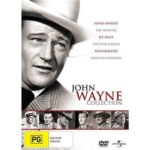 John Wayne Collection 6-Disc War Movies DVD Set Region 4 PAL
