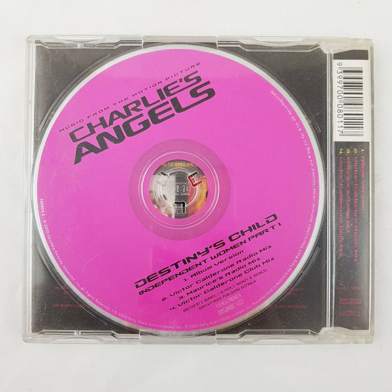 Destiny's Child Independent Women Pt. I CD Single Charlies Angels Beyonce Kelly - 1000 Things Australia