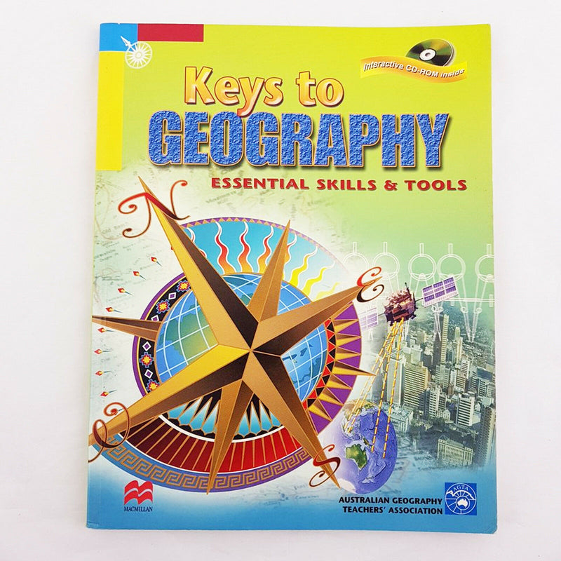 KEYS TO GEOGRAPHY: Essential Skills & Tools (Book & CD ROM) By AGTA - 1000 Things Australia