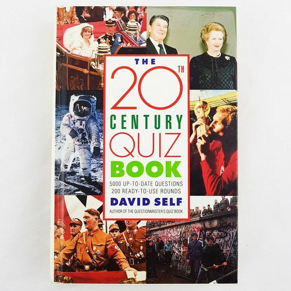 The 20th Century Quiz Book By David Self - 1000 Things Australia