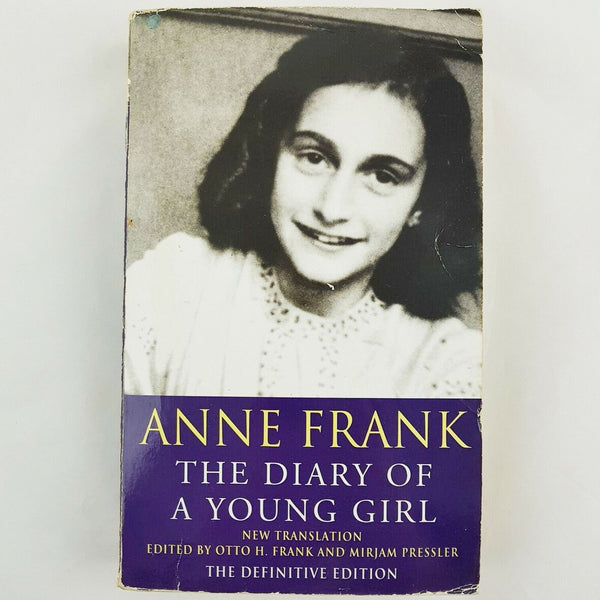 The Diary of A Young Girl by Anne Frank (Definitive Edition, Paperback, 1997) Book - 1000 Things Australia