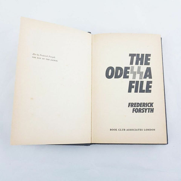 The Odessa File by Frederick Forsyth Thriller 1972 Book (Hardcover) - 1000 Things Australia