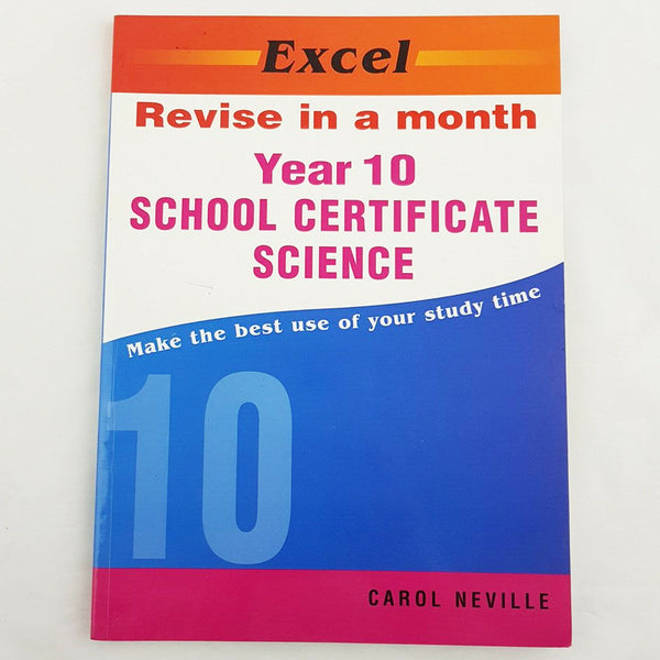 Excel Revise in a Month School Certificate Science by C. Neville Textbook - 1000 Things Australia