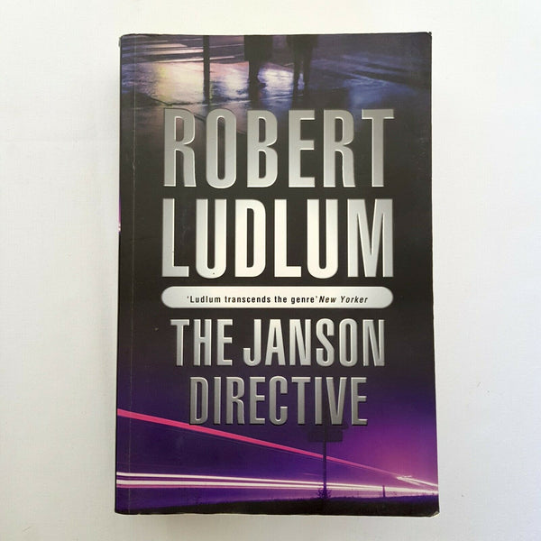 The Janson Directive by Robert Ludlum - 1000 Things Australia