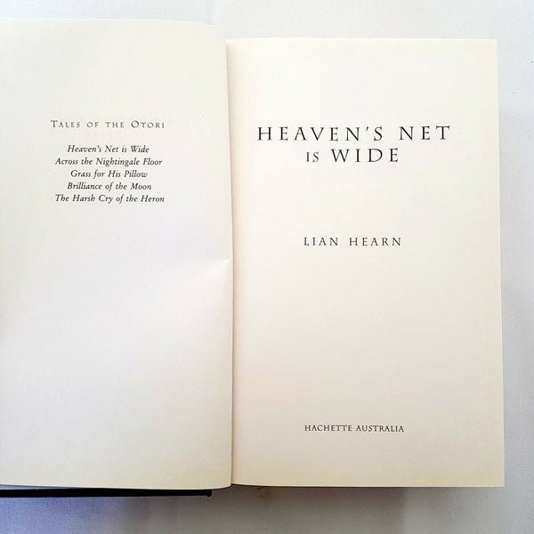 Heaven's Net is Wide by Lian Hearn (Hardcover, 2007) - 1000 Things Australia
