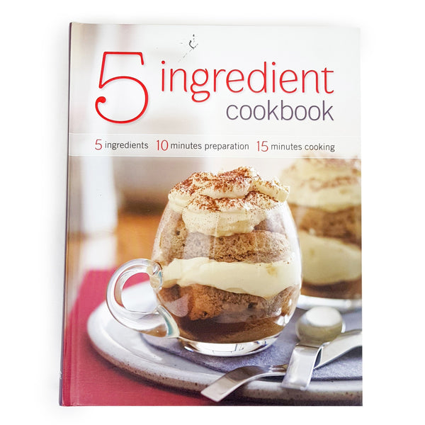 5 INGREDIENT COOKBOOK Quick and Easy Cooking Recipe Book - 1000 Things Australia