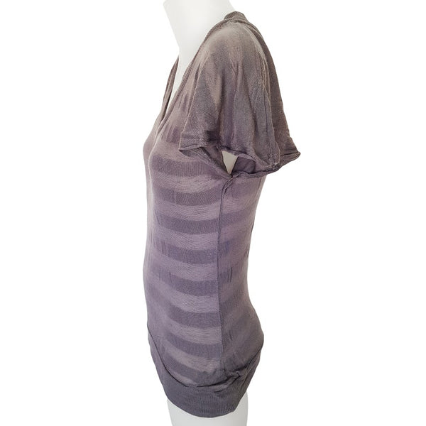 GIRL EXPRESS Grey Striped Blouse - 1000 Things Australia