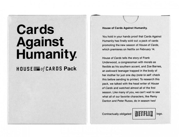 Cards Against Humanity: House of Cards Pack - 1000 Things Australia