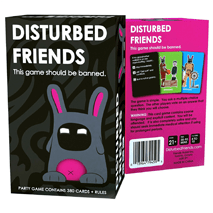 Disturbed Friends Card Game - 1000 Things Australia
