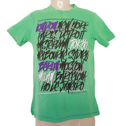 LOST HIGHWAY Green Statement T-Shirt - 1000 Things Australia