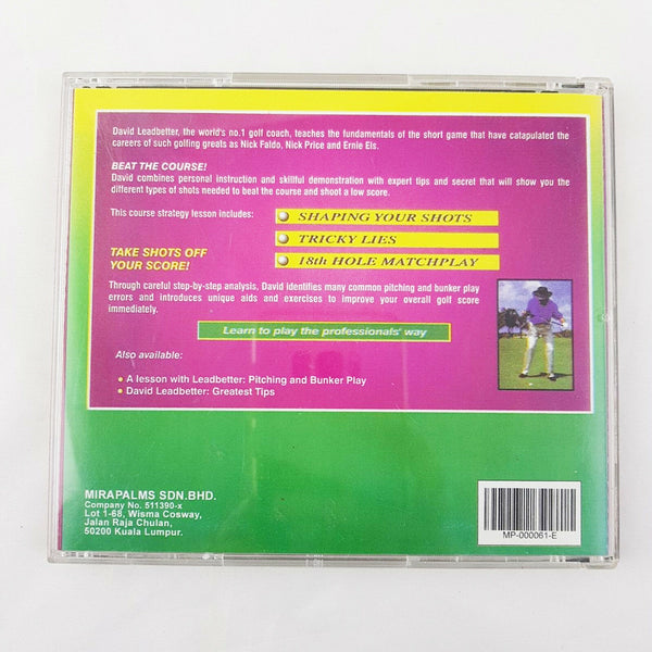 GOLF - A Lesson With David Leadbetter Taking It To The Course Vol. 2 Tough Shots CD - 1000 Things Australia