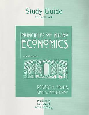 Principles of Microeconomics-Study Guide 3rd Edition by Robert H Frank Paperback-Books Textbooks, Education-1000 Things Australia