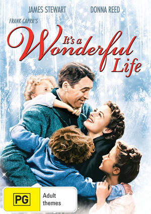 It's A Wonderful Life By Frank Capra DVD 2002 Rated PG Drama Movie-DVDs & Movies DVDs & Blu-ray Discs-1000 Things Australia