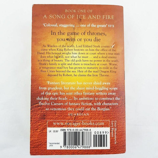 A Game of Thrones: Book One of A Song of Ice & Fire - 1000 Things Australia